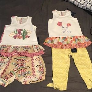 Mable & Honey size 5 Girls Outfits x 2 Nwt